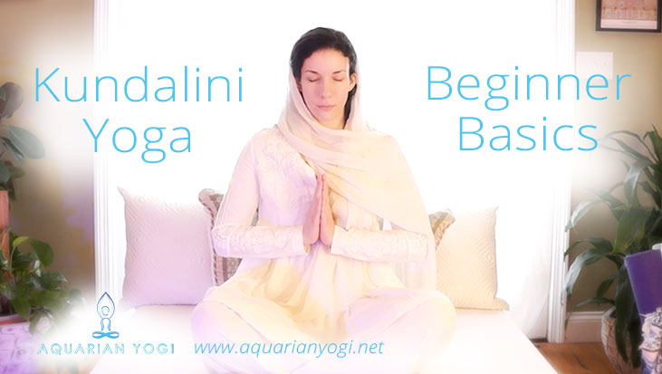 Kundalini Yoga Beginner Basics – Free Video Series – Tuning In/Closing