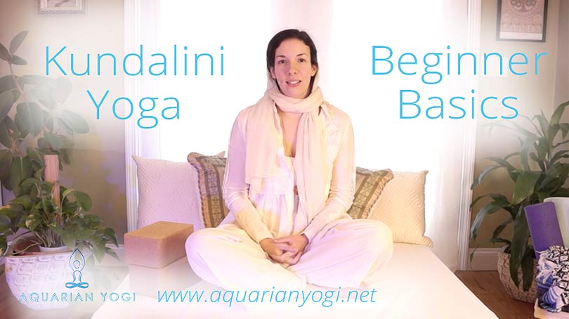 Kundalini Yoga Beginner Basics – Free Video Series – Sitting Postures