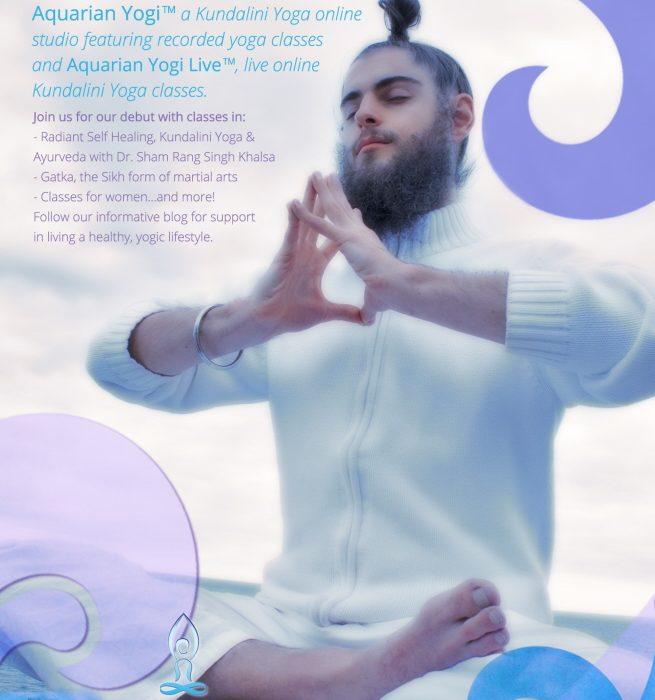 Aquarian Yogi Flyer and Photography